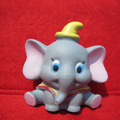 DIY Deco 3D doll Gray Elephant Plastic Resin Cell Phone Crystal Case Cover